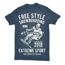 tshirt design free style snowboarding tshirt design thefancydeal