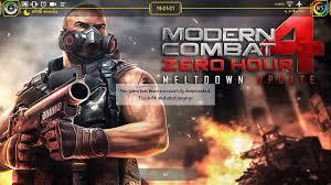 apk mod data modern combat 4 zero hour v1 2 2e apk mod data android