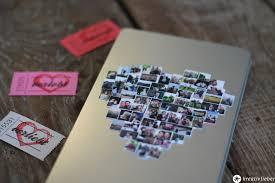 kleine hochzeitsgeschenke diy geschenkschachel mit fotos hochzeitsgeschenke