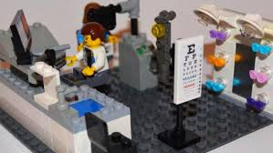 lego office alumnus designs lego optometry office playset pacific university