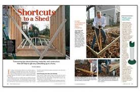 easy deck footings and shed footing construction without concrete