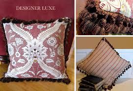 elegant tasseled pillow has jute webbing back sew4home