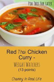 cuisine curry chicken curry weight watchers 13 points chammyirl