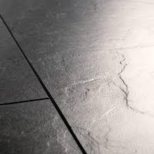Grey Slate Effect Laminate Flooring Quick Step Exquisa Exq1550 Slate Black Laminate Flooring