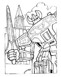 power rangers coloring pages mighty morphin power