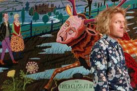 Grayson Perry Vanity Of Small Differences Grayson Perry Tapestries To Be Shown At Sunderland Museum The
