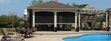 Motorized Screens For Patios Nashville Patio Shades Retractable U0026 Motorized