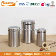 list manufacturers of stainless steel canister set buy stainless