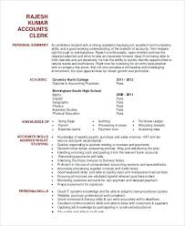 resume for accountant sample accounts clerk resume sample