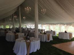 rent a wedding tent lined chandelier tent wedding rent today g k event rentals