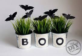 halloween diy diy halloween spooky bats and boo buckets the diy village