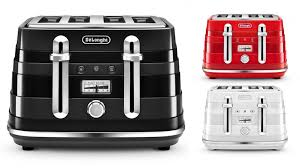 Toasters Delonghi Delonghi Avvolta 4 Slice Toaster Toasters Small Kitchen