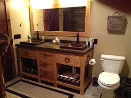 Vanity And Mirror Rough Sawed Vanity And Mirror Maina Hardwoods