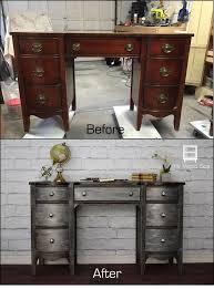 Dresser With Pull Out Desk Best 25 Refurbished Desk Ideas On Pinterest Desk Redo