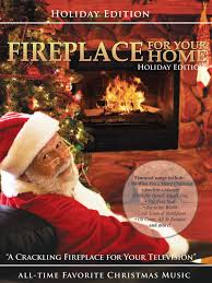 amazon com fireplace for your home presents christmas music