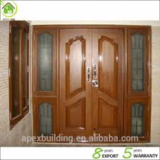 Solid Exterior Doors Living Room Burma Teak Wood Doors Door Models Solid Wood