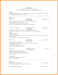 commercial cleaning resume examples bio letter format