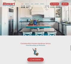 home remodeling website design flying dog media website design in charlottesville va seo