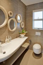 Bathroom Bathroom Mirror Ideas Features Unique Shapes Windowpane
