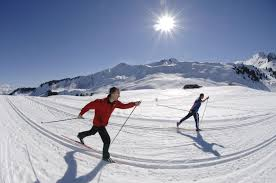 the 8 largest of cross country skiing areas french alps savoie