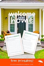 gifts for new apartment owners welcome home letter to new homeowners sunshine and rainy days