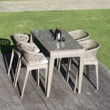 Garden Bar Stool Set by Skyline Design Rattan Garden Bar Stool And Table Set Skyline
