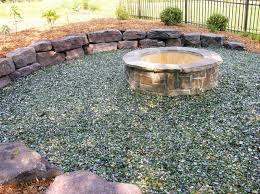 Stone Firepit by Gas Fire Pit Glass Stones Method Of Stacking The Fire Pit Stones