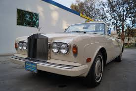 rolls royce dealership 1991 rolls royce corniche iii leather stock 402 for sale near