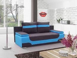 canapé convertible noir pas cher canapé lit pas cher noir et ou bleu ou vert ou orange