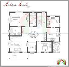 House Plan House Plan Kerala 3 Bedrooms Three Bedroom House Plan Small House Plan Map