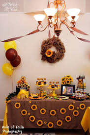 brown birthday party best 25 sunflower birthday ideas on sunflower