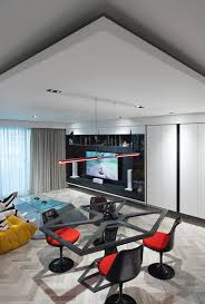 sensational star wars home transports you to a different dimension view in gallery entertainment zone and living room of the star wars home