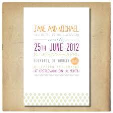 wedding invitation with text design green and purple invitation