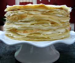 Red Kitchen Recipes - mille crêpes a very special cake big red kitchen a regular