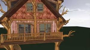 jeremiah johnson tree house floorplan youtube
