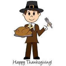 Happy Thanksgiving Pilgrims Turkey Dinner Clipart Image Happy Thanksgiving Theme With A
