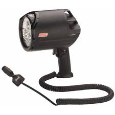 hand held spot light amazon amazon com coleman 2000002656 spotlight cigarette lighter spot