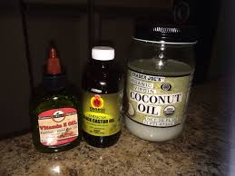 Castor Oil For Hair Loss Great For Growing Thick Hair Mix 2 Tablespoons Of Coconut Oil 2