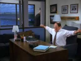 Sleeping At Your Desk Seinfeld George Sleeping Under His Desk Youtube