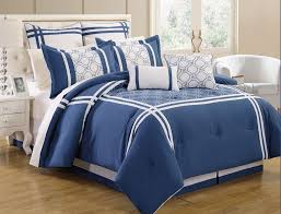 Navy Blue Bedding Set by Navy And White Bedding Sets Spillo Caves