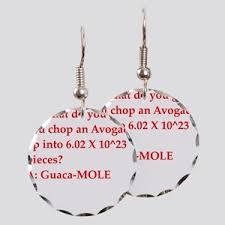chemist earrings chemist earrings cafepress