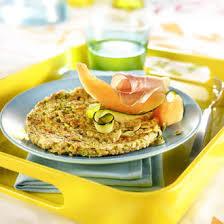 cuisiner flocon d avoine galettes de flocons d avoine aux courgettes et basilic recette