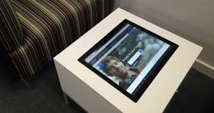 Touch Screen Coffee Table by Touch Screen Tables Multi Touch Coffee Tables