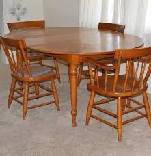 Maple Dining Room Sets 1950s