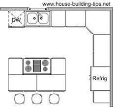 l shaped kitchen floor plans with island kitchen floor plans