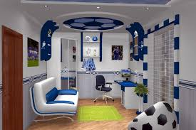 bedroom design cool study room football decoration feat tennis