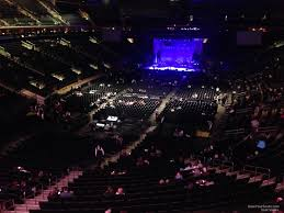 madison square garden section 205 concert seating rateyourseats com