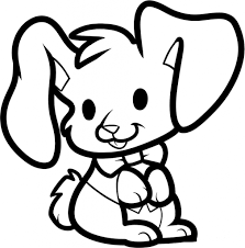 cartoon bunny drawings collection easy to draw easter bunny