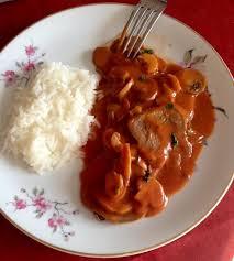 cuisine langue de boeuf recette langues de bœuf sauce madère aux champignons recette