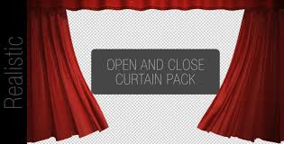 Movie Drapes Curtain Open And Close Pack By W A K A Videohive